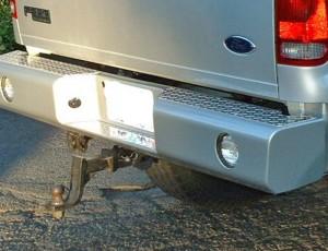 Accesories-Bumper-buckstop-rear-silver
