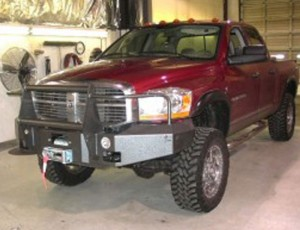 Accesories-Bumper-winches-maroon-dodge-with-winch