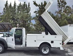 Accesories-Commercial-custom-flatbed-exterior-dump-truck-toolbox-dumping
