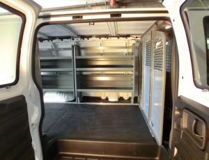 Accesories-Commercial-custom-van-side-view-interior-shelving