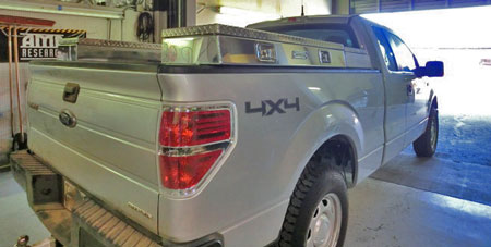 Accesories-toolbox-bedrail-silver-ford
