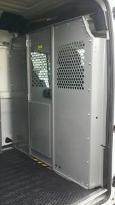 Comm Vehicle- Interior Partition Dodge Promaster